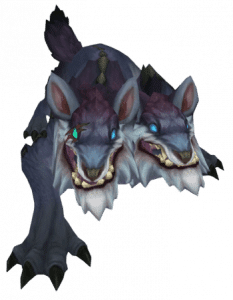 Greater Murk Wolf Render