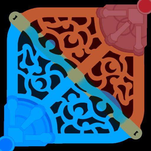 blue side red side 1