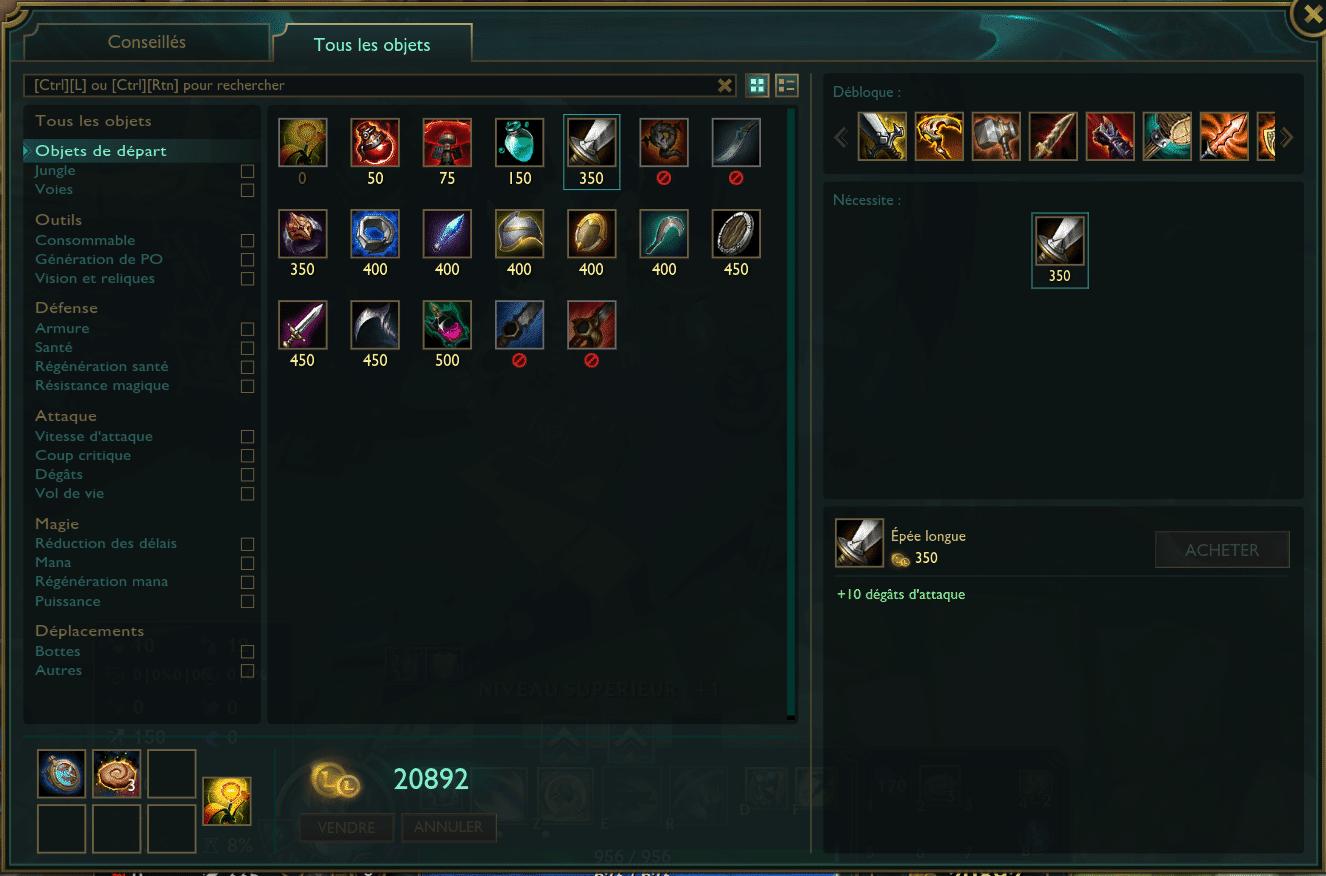objets de depart 1
